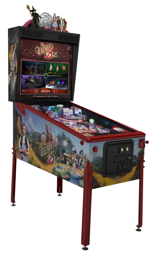 Jersey Jack Pinball - The Wizard of Oz 75th Anniversary Edition