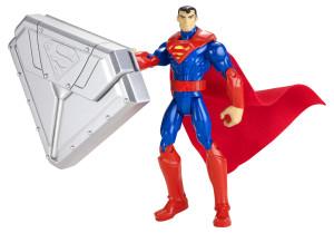 Mattel - Batman Steel Shield Basic Fig