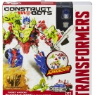TRANSFORMERS CONSTRUCT BOTS WARRIORS OPTIMUS & GNAW A6165 Package