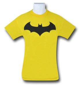 batman yellow shirt